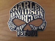 NEW For Harley Davidson JEEP EST1903 Motorcycles Skull FLAT Trunk Emblem BADGES