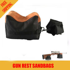 Xhunter Unfilled Shooter's Gun Rest Sand Bags Shooting Front & Rear Bench Steady