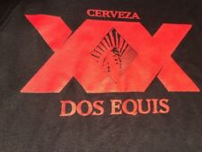 **NEW** DOS EQUIS BEER SHIRT, SIZE MEN'S XL, BLACK W.RED GRAPHICS, CERVEZA,WOW !