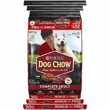 Purina Dog Chow Complete With Real Beef Adult Dry Dog Food - 20 Lb. Bag