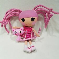 Lalaloopsy doll Jewel Sparkles Silly Hair with Persian Cat