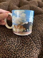 Vintage Baby Simba Disney Store The Lion King Coffee Tea Mug Cup Excellent