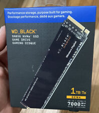 WD - WD_BLACK SN850 1TB Internal PCI Express 4.0 x4 Solid State Drive for Lap...