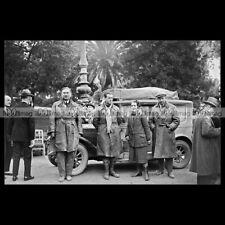 #pha.030902 Photo FIAT 509 JACQUES BIGNAN RALLYE MONTE CARLO 1928 Car Auto