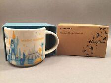 NEW Walt Disney World Magic Kingdom Starbucks You Are Here Collectible Mug 14 oz