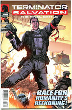 TERMINATOR SALVATION Final Battle #3, NM, John Connor, 2013, more DH in store