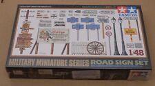 Tamiya 1:48 32509 Road sign set