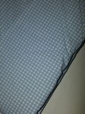 Ralph Lauren Light Blue Gingham/Checkered Twin Flat Sheet