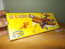Vintage W.W.1 British SE-5 Fighter by Aurora 1960 Shrink Wrapped!