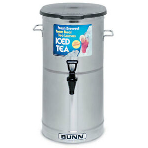 Iced Tea Dispenser 5 Gallon Capacity - Brew Through Lid