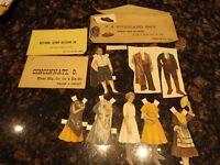 Old Lettie Lane Magazine Paper Doll Ladies Home Journal Spanish Boy Girl Spain