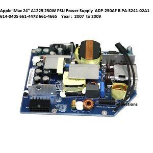 """A1225 Apple iMac 24"""" 250W PSU Power Supply 614-0405 ADP-250AF B PA-3241-02A1"""