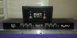 Vintage 1980's ProCo R2DU Dual Rat Distortion Effects Rack w/RFS-2 Footswitch