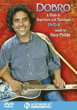 Stacy Phillips Dobro Guide To Repertoire Technique Learn Play Guitar Music 1 & 2