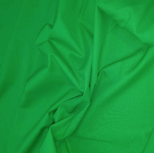 Green Screen Fabric Chroma Key Green Wide Width 305cm - SAMPLE SWATCHES Only UK