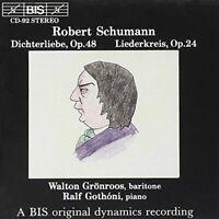 Robert Schumann - Dichterliebe, Op.48/Liederkreis, Op.24 (Gronroos, Gothoni)