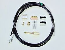 HOT ROD HAND BRAKE CABLE KIT - UNIVERSAL STYLE SUIT CHEV, HOLDEN, FORD BRAKES