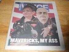 VOICE Mavericks My Ass Sarah Palin Biden John McCain President Election 2008