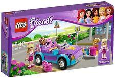 Lego Friends 3183 Stephanie's Cool Convertible Car Dog Brush Minifig NISB RARE!