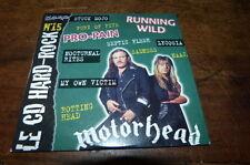 MOTORHEAD - STUCK MOJO - PRO-PAIN - NAAJA - SADNESS - LYCOSIA - CD compil !!!
