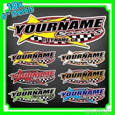 Custom Your Name Racing Decal Trailer Graphic Car IMCA Model Modified Sprint
