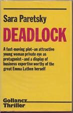 PARETSKY, Sarah - Deadlock.  UK 1st 1984, SIGNED - Fine