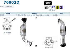 Pot catalytique Saab 9-5 3.0TD TId 2958cc 130Kw/170cv B308L 10/01>, antérieur