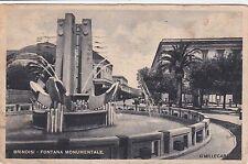# BRINDISI: FONTANA MONUMENTALE  1943