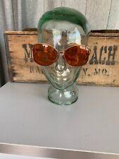 Vintage Christian Dior Butterfly Eyeglasses Frames Designer Glasses Brown & Gold