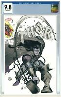 💥Thor #6 CGC 9.8 Graded PRE-ORDER Exclusive Peach Momoko Homage Variant Comic💥