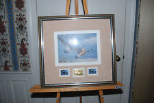 1987 Daniel Smith First of State W. Va Duck Stamp Print & Gold Medallion Edition