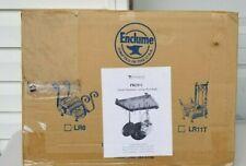 ENCLUME Hammered Steel Flush Mounted Rectangle Ceiling Pot Rack NIB