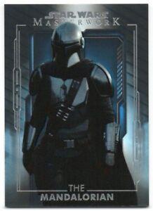 2020 Star Wars Masterwork Blue 1 The Mandalorian