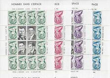 TOGO 1961,Space Sheets,Y.Gagarin,G.Titov,A.Shepard,Gus Grissom,VF MNH**