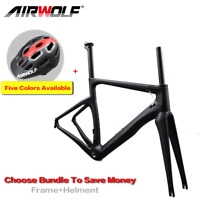 T1100 Carbon Fiber Road Racing Bike Frame BSA 3K Bicycle Frameset/fork/seatpost