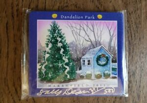 Sally Dean Dandelion Park Marshfield MA 2013 Christmas Tree Ornament 247 of 500