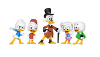 New Disney Duck Tales Collectible 5 Figures Pack