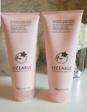 2x Liz Earle Botanical Body Cream ROSEMARY & ROCK ROSE 200ml duo  (400ml) NEW