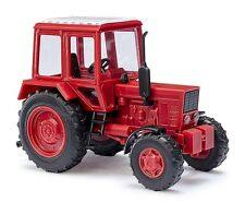 Busch H0, 51305 Belarus MTS 82, Tile Red, Car Model 1:87