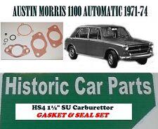 """1 ½ """" su Hs4 Junta De Carburador & Seal Set Para austin-morris 1100 Mk3 Automático 1971-74"""
