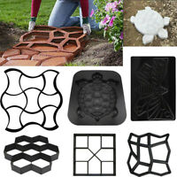 Reusable Path Floor Mould DIY Path Maker Garden Lawn Paving Concrete Mold Stone