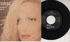 MINA disco 45 giri MADE in ITALY Moriro per te + Oggi è nero 1982