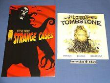 Strange Cases+The Lonely Tombstone Nikki Steve Niles Image Comics Benjamin Roman