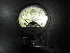 Hickock Electrical Instruments General Controls Co. Millivolt Meter P-46