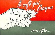 """LE HAVRE BLEVILLE PROSPECTUS """" CAFE CIGOGNE """" BON DE REDUCTION AVANT 1960"""