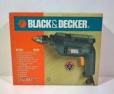 Black & Decker trapano a percussione 1 Velocita' Kd561 450w 230v Hammer Drill