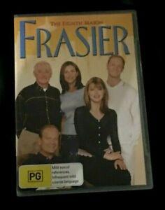 Frasier : Season 8 (DVD, 2008, 4-Disc Set) Very Good Condition Region 4