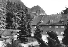 """AK, Waltersdorf Sächs. Schweiz, Betriebsferienheim """"Junge Welt"""", Version 2, 1985"""