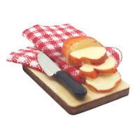 1:12 Dolls House Miniature Breakfast Food 2Qt Milk 6pcs Bread Toast 5pcs Cups