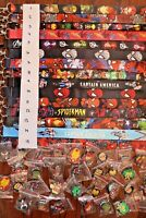 Disney World Pin Trading Lot Lanyard Starter Set Marvel Set with 10 Pins